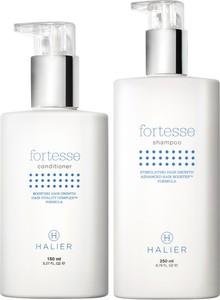 Halier Zestaw do włosów wypadających | Fortesse Odżywka 150ml, Fortesse Szampon 250ml - Wysyłka w 24H!