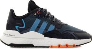 Buty sportowe dziecięce Adidas z zamszu