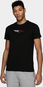 T-shirt 4F z krótkim rękawem z dzianiny