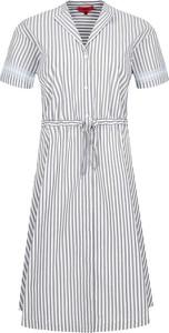 Sukienka Hugo Boss koszulowa z krótkim rękawem