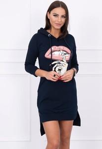 f381fa4bd5 sukienka sportowa z kapturem - stylowo i modnie z Allani
