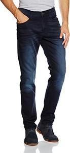 Czarne jeansy Mustang z jeansu