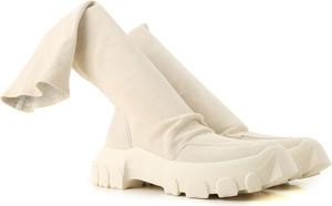 Buty zimowe Rick Owens w stylu casual z zamszu