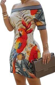 Sukienka Arilook mini w stylu casual hiszpanka