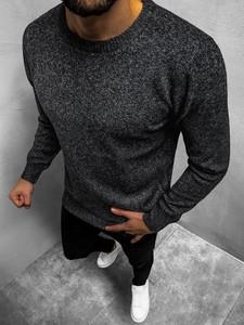 Czarny sweter JACK DAVIS