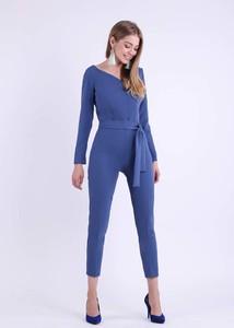Niebieski kombinezon Nommo z długimi nogawkami