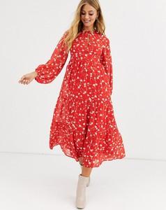 Sukienka Asos Design oversize z długim rękawem