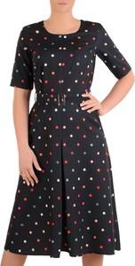 d3d7137d5b czarna sukienka na wesele savoir vivre - stylowo i modnie z Allani