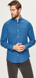 Niebieska koszula Izod z klasycznym kołnierzykiem z bawełny