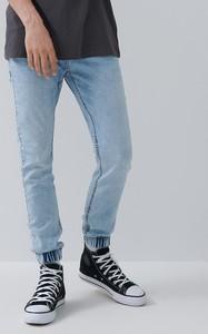 Niebieskie jeansy House w stylu casual