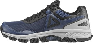 Niebieskie buty trekkingowe Reebok sznurowane
