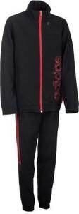 Czarny dres dziecięcy Adidas z dzianiny
