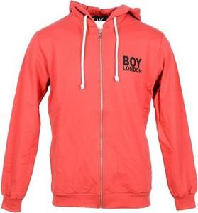 Czerwona bluza BOY LONDON z bawełny