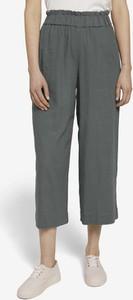 Spodnie Tom Tailor Denim z lnu w stylu retro