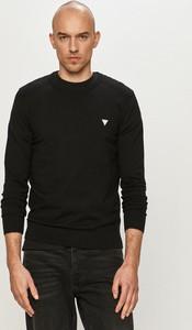 Sweter Guess w stylu casual z okrągłym dekoltem