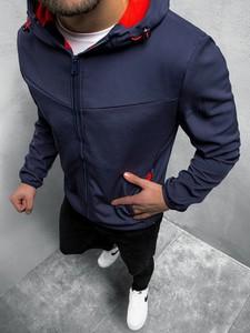 Niebieska kurtka ozonee.pl w młodzieżowym stylu