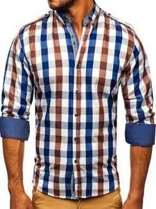 Koszula Denley z długim rękawem w stylu casual z kołnierzykiem button down