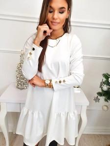 Sukienka Magneticsklep mini z długim rękawem