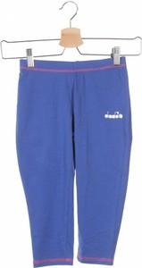 Niebieskie legginsy dziecięce Diadora