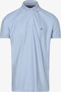 Niebieska koszulka polo Tommy Hilfiger
