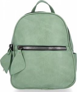 Zielony plecak Bee Bag ze skóry ekologicznej