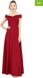 Sukienka Michel Laprele z bawełny maxi