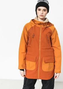 Pomarańczowa kurtka Burton z plaru