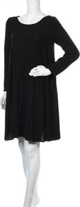 Sukienka Tantra mini z okrągłym dekoltem z długim rękawem
