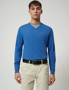 Sweter Napapijri z bawełny