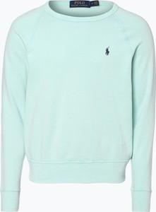 Polo ralph lauren - męska bluza nierozpinana, zielony