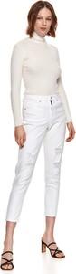 Jeansy Top Secret w street stylu z jeansu