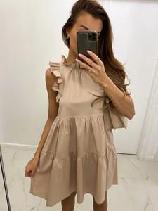 Sukienka Biancaloren.pl hiszpanka mini w stylu casual