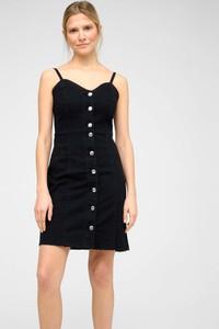 Czarna sukienka ORSAY mini z jeansu