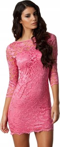 Sukienka Inna dopasowana w stylu casual mini