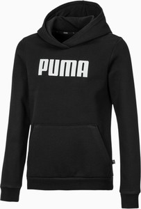 Czarna bluza dziecięca Puma dla chłopców