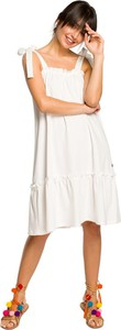 Sukienka Be z dzianiny na ramiączkach