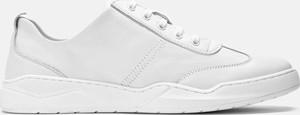 Kazar Białe sneakersy męskie