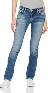 Niebieskie jeansy amazon.de z jeansu