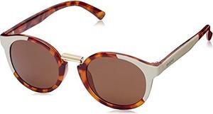 Pomarańczowe okulary damskie Mr.boho