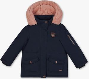 Granatowa kurtka dziecięca Palomino z bawełny