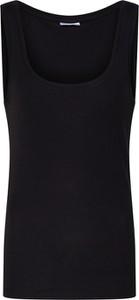Czarna bluzka Vero Moda w stylu casual