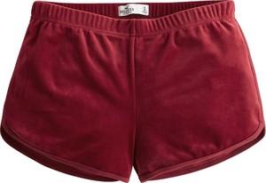 Czerwone szorty Hollister Co. w stylu casual
