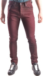 Czerwone jeansy Diesel