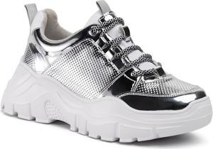 Sneakersy DeeZee sznurowane