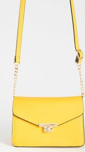 Żółta torebka Sinsay na ramię