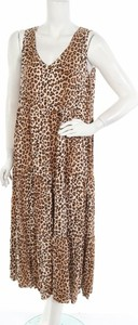 Sukienka Boho Australia na ramiączkach maxi z dekoltem w kształcie litery v