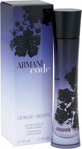 Giorgio Armani, Code for Women, woda perfumowana, 30 ml