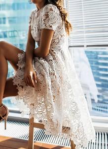 Sukienka Cikelly z długim rękawem w stylu boho mini