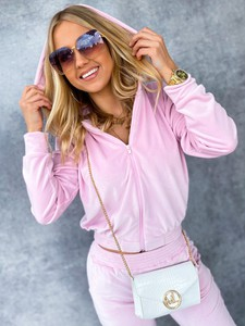 Różowy dres Ricca Fashion