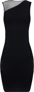 Sukienka Guess mini z okrągłym dekoltem bez rękawów